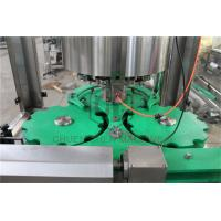 China Glass Bottle Capping And Labeling Machine , Liquid Filling And Capping Machine on sale