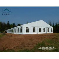 Quality White / Clear Fabric Large Wedding Tents In Kenya / Backyard Tent Party for sale