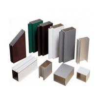 China Powder Painted Aluminium Window Extrusion Profiles With Deep - Processing For Silding /Casement Window on sale