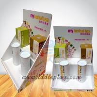 Buy cheap Child Toys Cardboard Counter Display with 2 -tier Popular Design for Sales from wholesalers