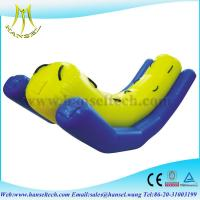 Quality Hansel Hot sell inflatable water totter,inflatable totter water toy for sale