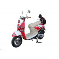 Quality gas motor scooter 50cc 125cc 150cc GY6 engine 139QMB 152QMI 157QMJ front disc rear drum alloy wheel  red plastic body for sale