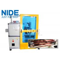 Quality Horizontal Toroid Full Automatic Coil Winding Machine For Big Wire Electric Motor Stator for sale
