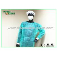 Quality Polypropylene Disposable Isolation Gowns Long Sleeve Durable for sale