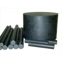 Quality 500mm Black Filled PTFE Teflon Rod / PTFE Rod / Teflon Rod For Sealing for sale