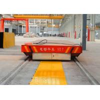 Quality 20t construction site drilling roll handling railway transfer car for sale