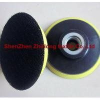Quality Strong strength adhesive hook loop polishing abrasive for sale