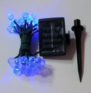 Quality Solar Panel Power 0.3W Color IP65 Flexible Led Strip Lights Christmas Halloween Lighting for sale