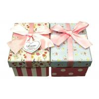 Buy Rectangle Large Cardboard Gift Boxes With Lids Luxury Packaging Boxes 200gsm at wholesale prices