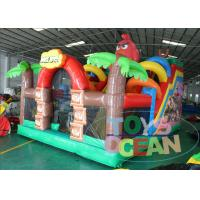 Buy Inflatable Angly Brids Inflatable Bouncer Combo House 2 Years Warranty at wholesale prices