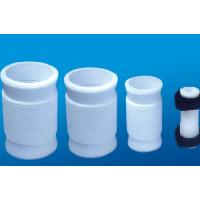 Quality White PTFE tube , 2.10g/cm³ PTFE Soft Joint / PTFE Material For Metal Tube for sale