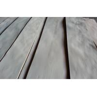 Quality Decorative Natural Birch Veneer Plywood With Crown Cut Grain for sale