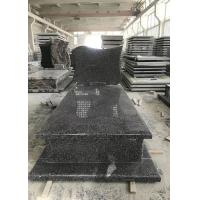 Quality new G654 granite stone tombstone China New impala monument headstone for sale