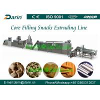 Quality Big Capacity Corn Snacks Puff Extruder Machine Food Production Line for sale