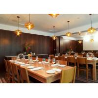 Quality Wooden Commercial Restaurant Furniture Solid Rubber Wooden Material for sale