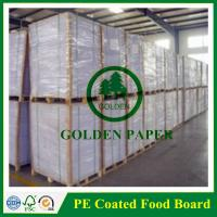 Buy cheap 140gsm-350gsm cupstock base paper without PE/PE coated from wholesalers