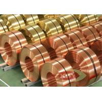 Quality C2680 C2801 C2600 Thin Brass Strip Coils Bearing Bushing ISO Approval for sale