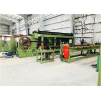 Buy Automated Gabion Box Machine / Gabion Basket Machines for 80 X 100mm Mesh Size at wholesale prices