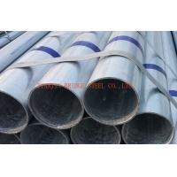 Quality Galvanized Mild Steel Gi Pipe STK500 / STK400 , Round Steel Tube for sale