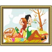 Quality cartoon painting kids room wall painting fay image for sale