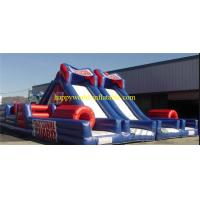 Buy cheap inflatable park , inflatable fun city , indoor inflatable playground , inflatable obstacle from wholesalers