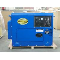 Quality Industrial Air Cooled Quiet Diesel Generator With 3000 / 3600 Rpm Engine Speed for sale
