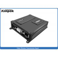 Buy 3 Watt UAV Video Transmitter Robust RJ45 Ethernet Wireless Transceiver with TTL RS232 for IP Camera at wholesale prices