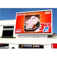 Quality Full Color Front Service LED Display RGB , Weather Resistant Hd Led Screen For Advertising for sale