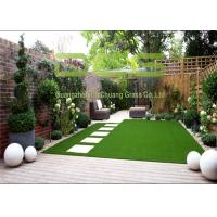 Buy 4 Colors Outdoor Grass Carpet / Soft Artificial Grass Garden 35 Mm Height at wholesale prices