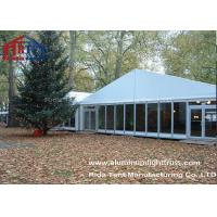 China Glass Wall Garden Marquee Wedding TentSolid Aluminium Structure Anti Rust Surface on sale