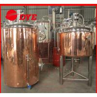 Quality Commercial Beer Brewing Equipment , Micro Distillery Equipment Pipe Welding for sale
