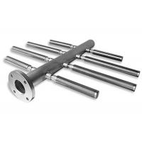 Horizontal Herring Bone Style Wedge Wire Filter / Stainless Steel Distributor With Various Slots for sale