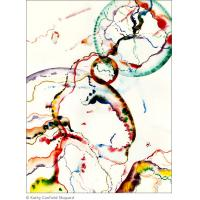 Quality 2012 new abstract painting art color wall arts painting for sale