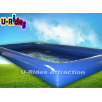 Quality Kids Square Inflatable Swimming Pools PVC Tarpaulin CE Certificate for sale