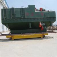 Quality 30t steel plant apply electric motorised transfer trolley on steel rail for sale