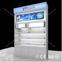 Quality sell cosmetic display Case,Customized design cosmetic display showcase for sale