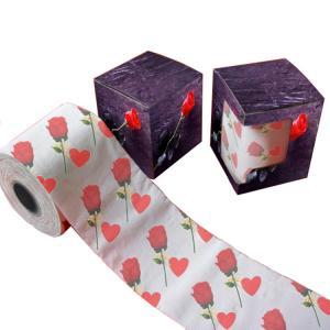 flower toilet tissue  2ply  250 sheets  custom printed toilet paper 100% virgin pulp