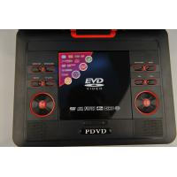 Buy Swivel Red 9 Inch Portable DVD Player with AV Input and USB Port at wholesale prices