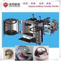 Quality Two Doors Glass Coating Machine , Chrome Plating Machine For Plastic / Helmet for sale