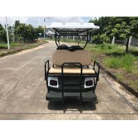 Buy 48V Large Capacity Battery Powered 8 Person Golf Cart With Reverse Folding Seats at wholesale prices