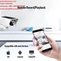 Quality 1920X1080p 2MP Solar Wireless 64G SD IP Camera with Two Ways Audio and APP for sale