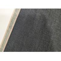 Quality 11oz Vintage Selvedge Natural Denim Fabric 70*56 Density Cotton Material W93826 for sale