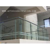 Quality Tempered / toughened glass for porch railing, porch fence, veranda fence, veranda railing, porch balustrades for sale