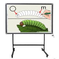 Quality Infrared Finger Touch Multi-touch and Multi-users Writing simultaneously Interactive Electronic Whiteboard for sale