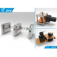 Quality One Way Turnstile Single Direction Swing Barrier Turnstile Card Access Control System 5000000 Cycles for sale