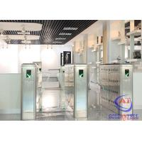 Quality Double Motor Full Automatic Retractable Airport Turnstile barrier Gate Mechanism for sale