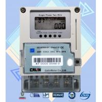 China Card Prepayment Single Phase Electric Meter , Surge Protection Wireless Power Meter on sale