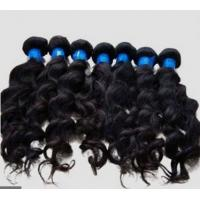 Quality Elegant Unprocessed Indian Curly Hair Extensions With No Foul Odor for sale