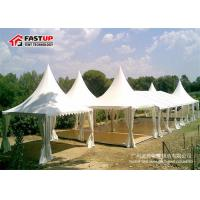 Buy PVC - Coated Roof Cover Large Party Tent With Flooring Systems Tear Resistant at wholesale prices
