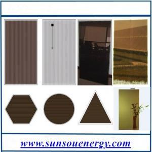 Quality 110w A-Si thin film solar PV module, high Eff. thin film solar panel 110w for BIPV for sale